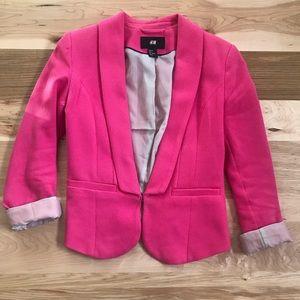H&M Pink Blazer Size 34